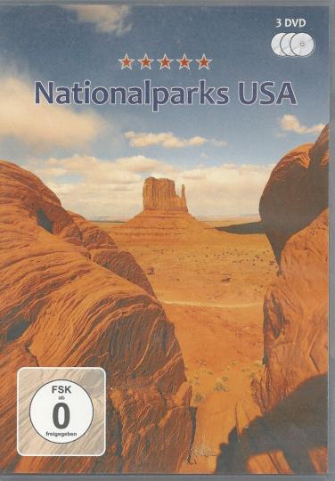 Nationalparks USA 3 DVDs