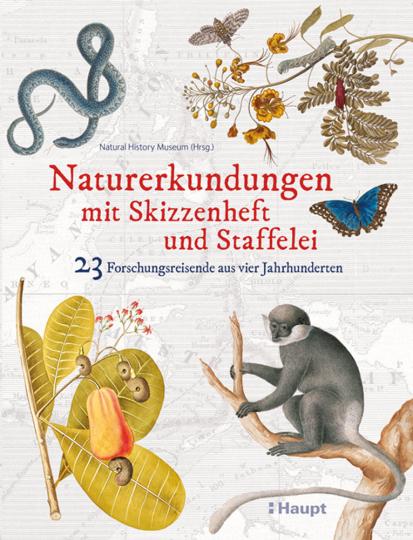 Naturerkundungen mit Skizzenheft und Staffelei. 23 Forschungsreisende aus vier Jahrhunderten.