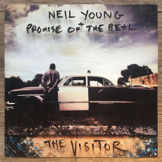 Neil Young. The Visitor. 2 Vinyl-LPs.
