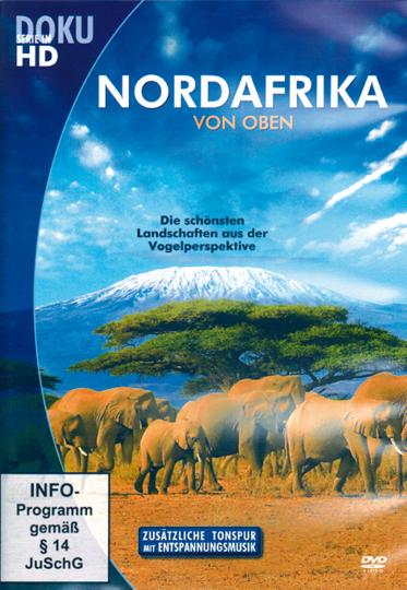 Nordafrika von oben. DVD.