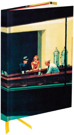 Notizbuch Edward Hopper »Nachtfalken«