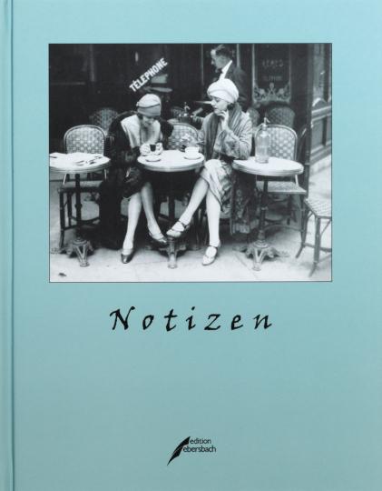 Notizbuch »Café in Paris«.