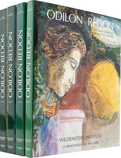 Odilon Redon. Catalogue Raisonné de L'Oeuvre et Dessiné. 4 Bände.