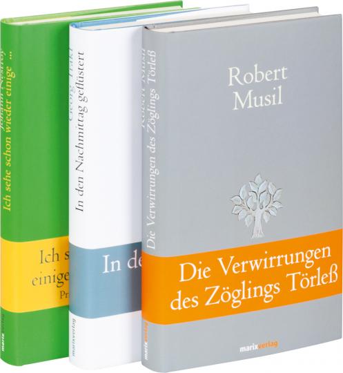 Österreichische Autoren des 20. Jahrhunderts. 3 Bände im Set.