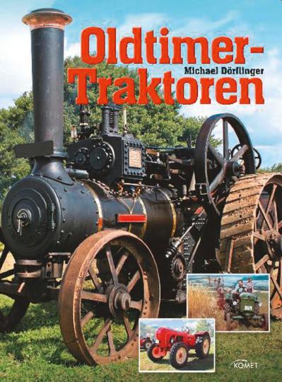 Oldtimer-Traktoren.