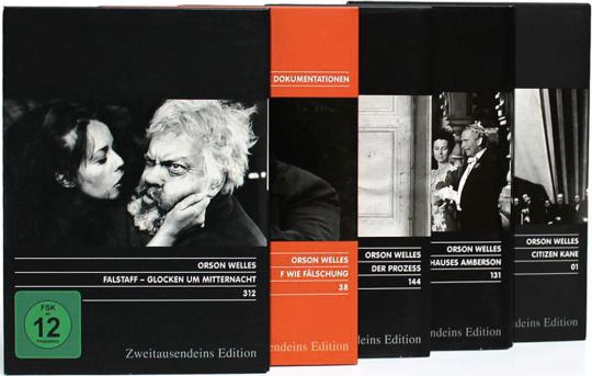 Orson Welles Paket. 5 DVDs.
