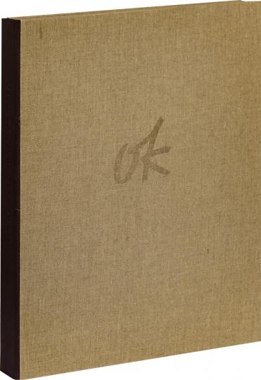 Oskar Kokoschka. Pan. 17 Original-Lithografien zum Roman von Knut Hamsun.