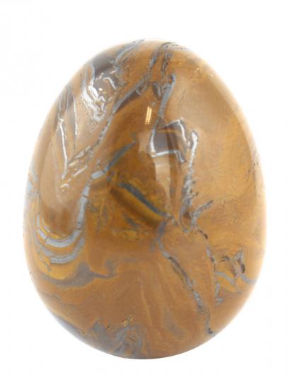 Steinei aus Tigereisen.