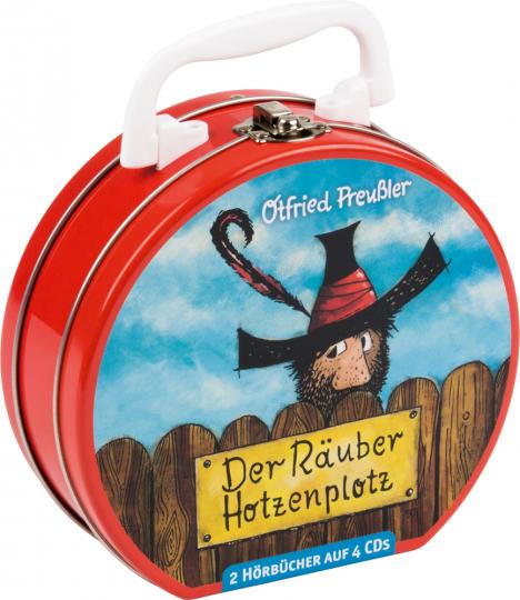 Otfried Preußler. Der Räuber Hotzenplotz. Hörbuchkoffer mit 4 CDs.