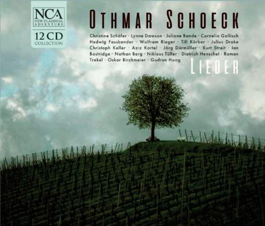 Othmar Schoeck. Lieder. 12 CDs.