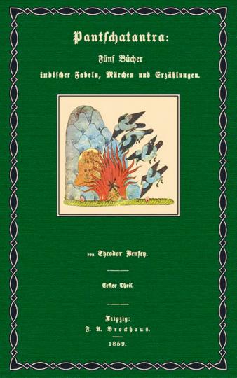 Pantschatantra - Fünf Bücher indischer Fabeln, Märchen und Erzählungen 2 Bände in Leinen. Auf 300 Exemplare limitiert und handnummeriert.