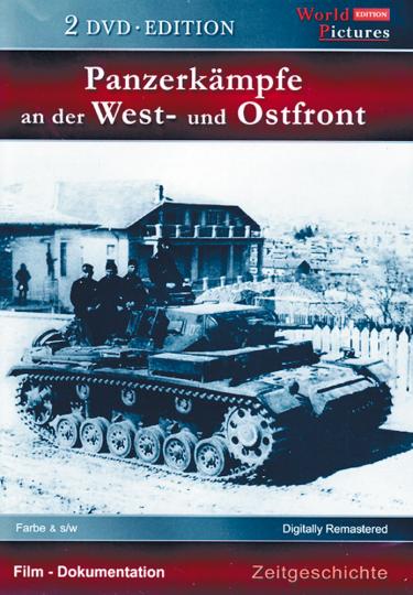 Panzerkämpfe an der West- und Ostfront, 2 DVDs