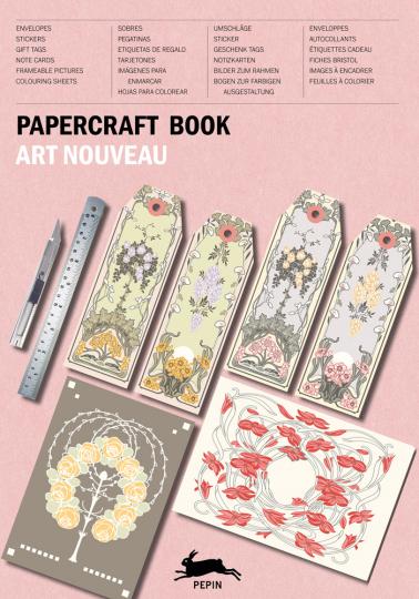 Papierkunstbuch. »Art Nouveau«.