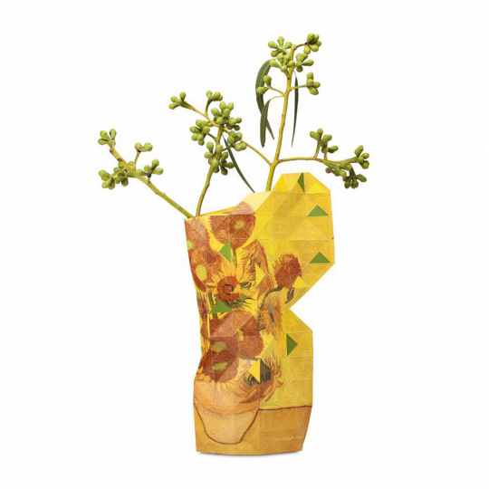 Vasenhülle »van Goghs Sonnenblumen«.