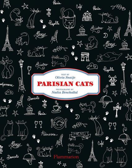 Parisian Cats. Pariser Katzen.
