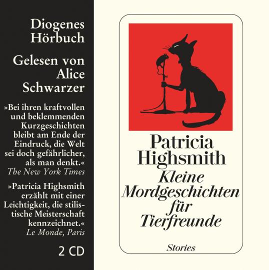 Patricia Highsmith. Kleine Mordgeschichten für Tierfreunde. Stories. 2 CDs.