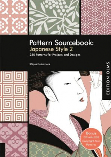 Pattern Sourcebook: Japanese Style 2. Buch + CD-ROM.