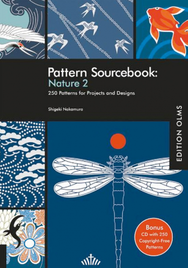 Pattern Sourcebook: Nature 2. Buch + CD-ROM.