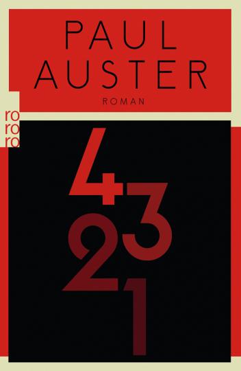 Paul Auster. 4 3 2 1. Roman.