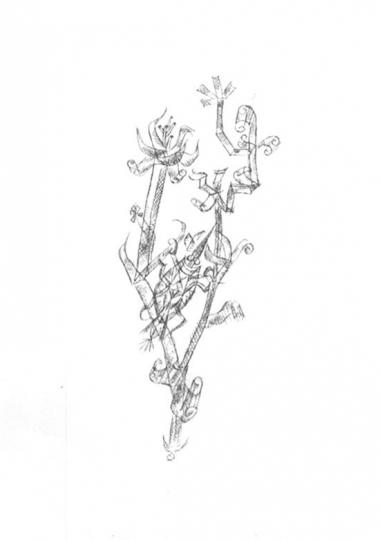 Paul Klee. Riesenblattlaus.