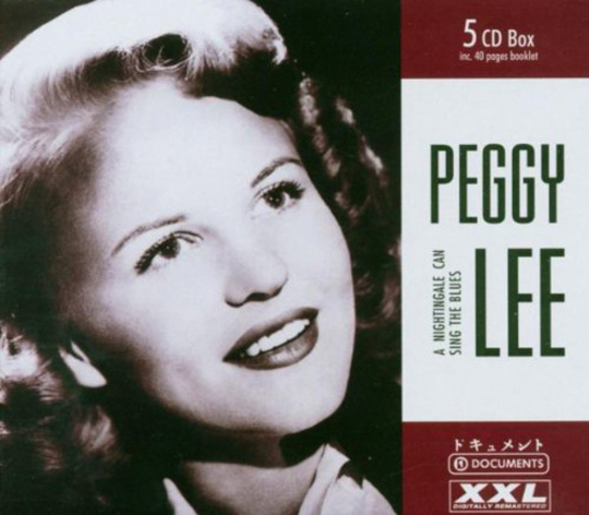 Peggy Lee. A Nightingale can sing the Blues. 5 CDs.