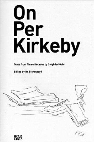 Per Kirkeby. »o.T.« Vorzugsausgabe.