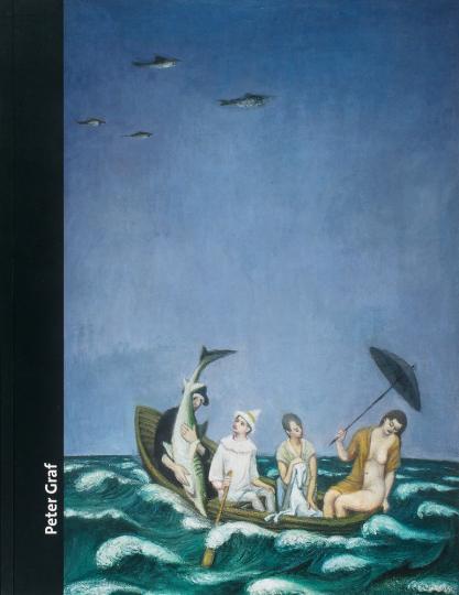 Peter Graf - Guten Abend, Indigo. Malerei und Grafik.