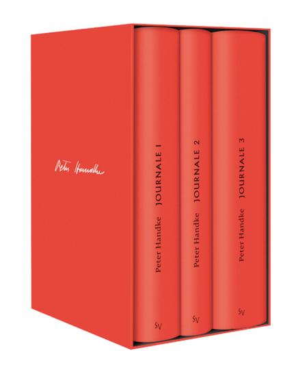 Peter Handke Bibliothek III. Bde. 12-14 Journale.