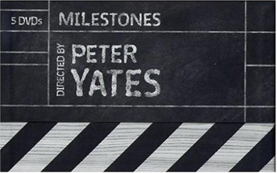Peter Yates - Milestones. 5 DVDs.