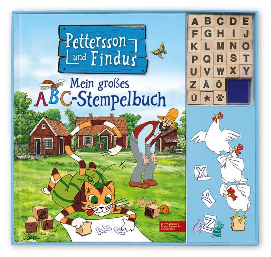 Pettersson und Findus. Mein großes ABC-Stempelbuch.