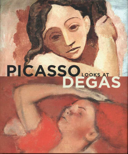 Picasso Looks at Degas.