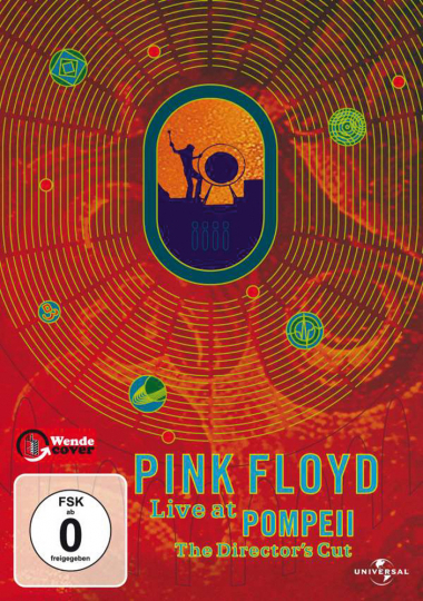 Pink Floyd. Live at Pompeii. The Director's Cut. DVD.