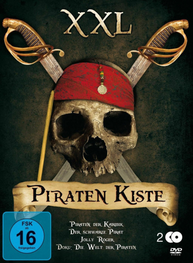 Piratenkiste  XXL 2 DVDs