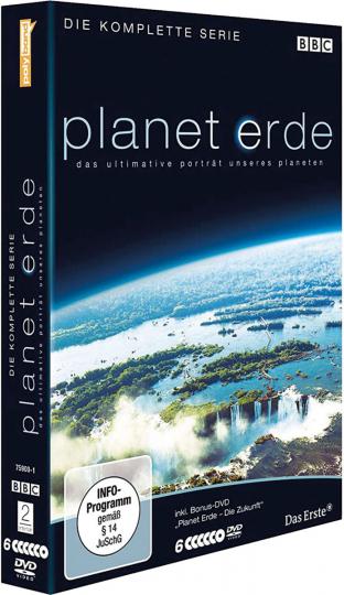 Planet Erde. Komplette Serie. 6 DVDs.