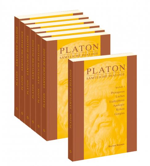 Platon - Sämtliche Dialoge. 7 Bände.