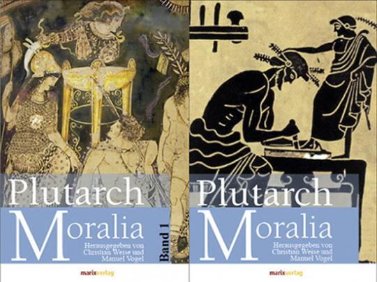 Plutarch. Moralia. 2 Bände.