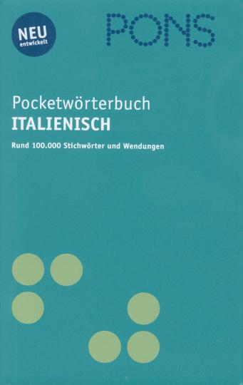 Pocketwörterbuch Italienisch - Rund 100.000 Stichwörter und Wendungen