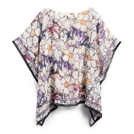 Poncho Louis C. Tiffany »Magnolienblüte«.