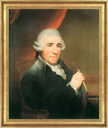 Portrait Joseph Haydn, 1792. Thomas Hardy (1757-1805).