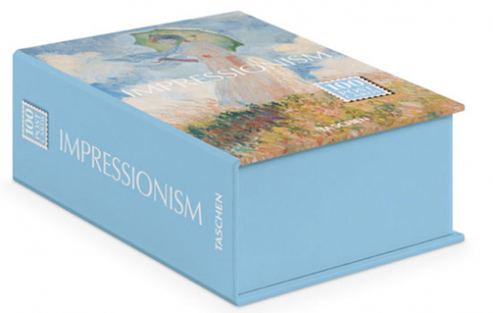 Postkartenbox »Impressionismus«.