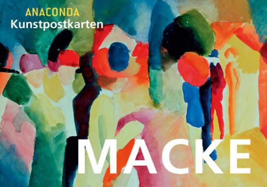 Postkartenbuch August Macke.