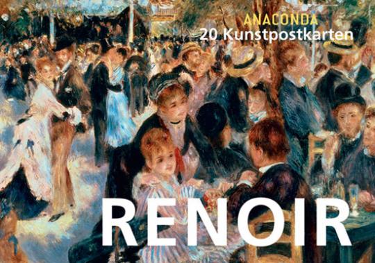 Postkartenbuch Auguste Renoir.