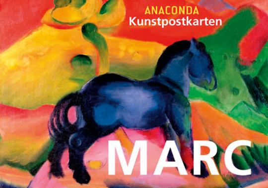Postkartenbuch Franz Marc.