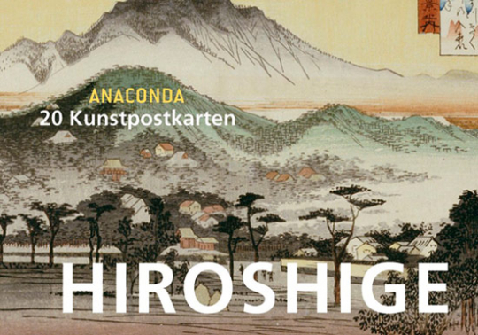 Postkartenbuch Hiroshige.