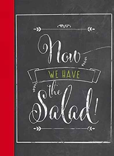 Postkartenbuch - Now we have the salad!