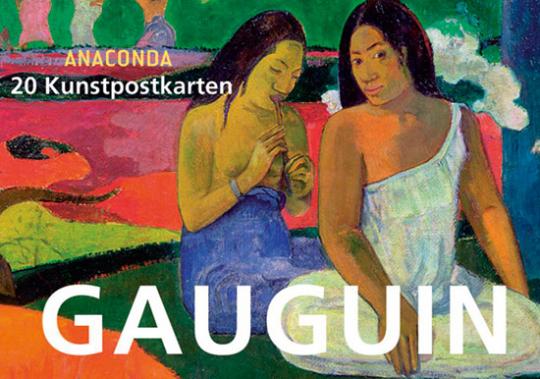 Postkartenbuch Paul Gauguin.