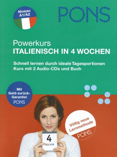 Powerkurs Italienisch in 4 Wochen - 2 CDs + Buch