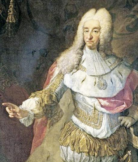 Prunk und Grandeur an europäischen Königshäusern.