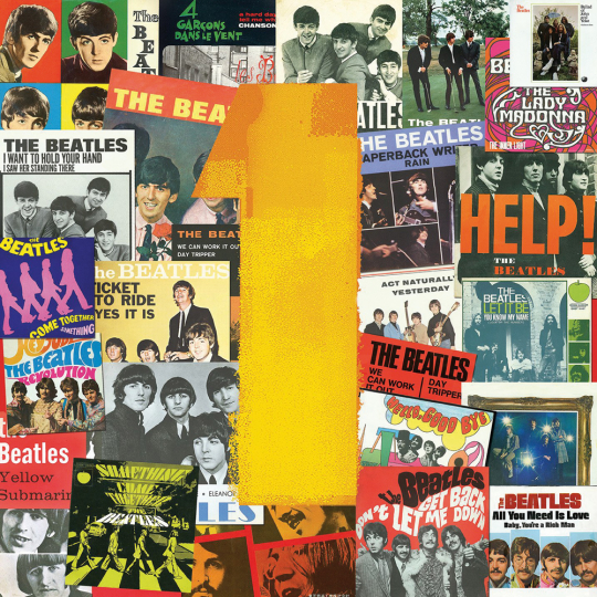 Puzzle The Beatles No. 1 Singles. 500 Teile.