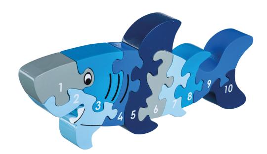 Puzzle »Hai 1-10«.